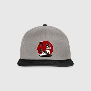 Geisha Pinup Jp 3 - Snapback Cap