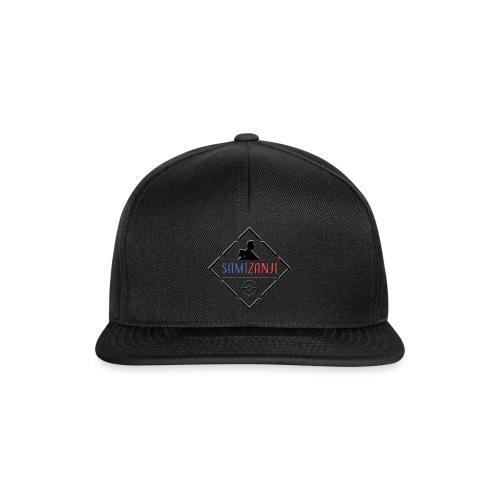 SamiZanji svart logga - Snapbackkeps