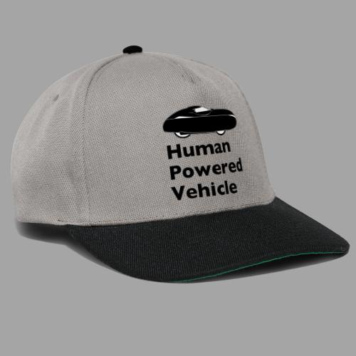 Quest Human Powered Vehicle 2 black - Snapback Cap