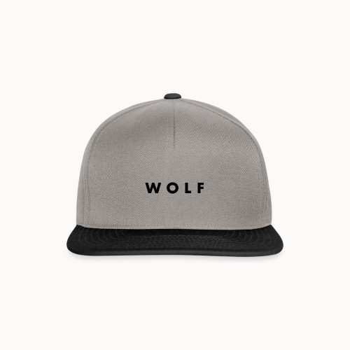 wolf - Casquette snapback
