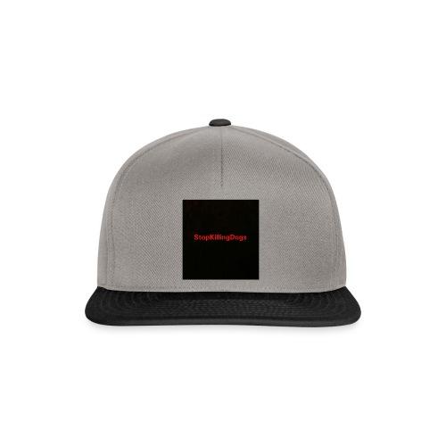 StopKillingDogs Aufschrift - Snapback Cap