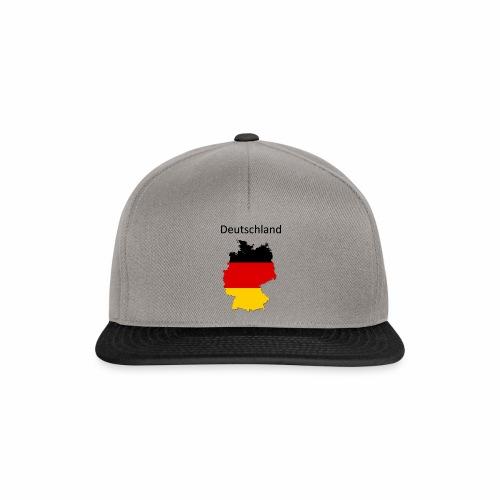 Deutschland Karte - Snapback Cap