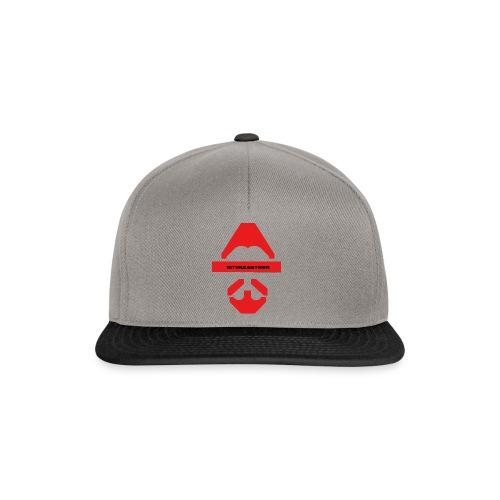Biturzartmon Logo rot glatt - Snapback Cap