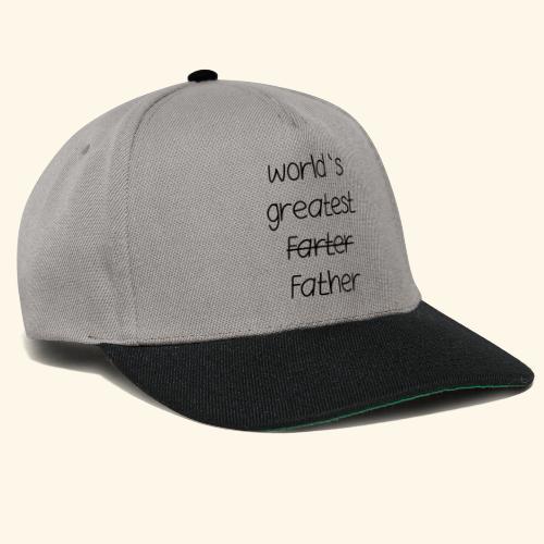 World's greatest Father - Snapback Cap