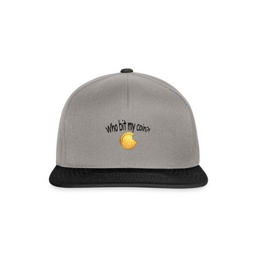 Bitcoin bite - Snapback cap