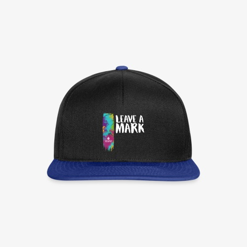 Leave a mark - Snapback Cap