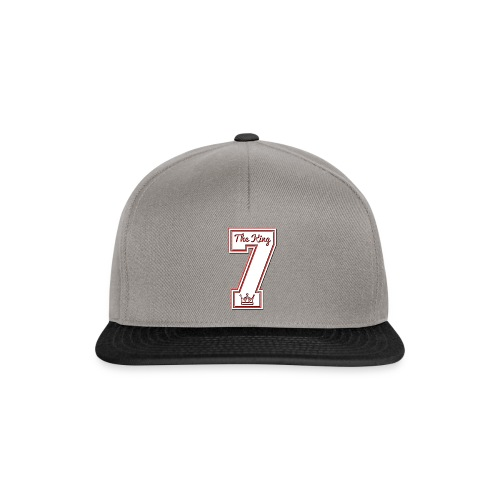 Collection THE KING 7 - Casquette snapback
