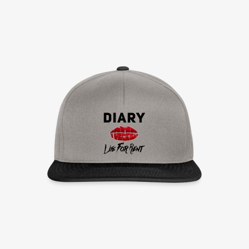 Diary Of A Life For Rent - Snapback Cap