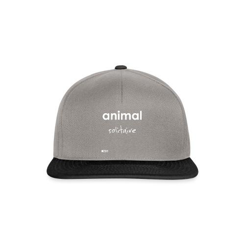 animal solitaire - Casquette snapback