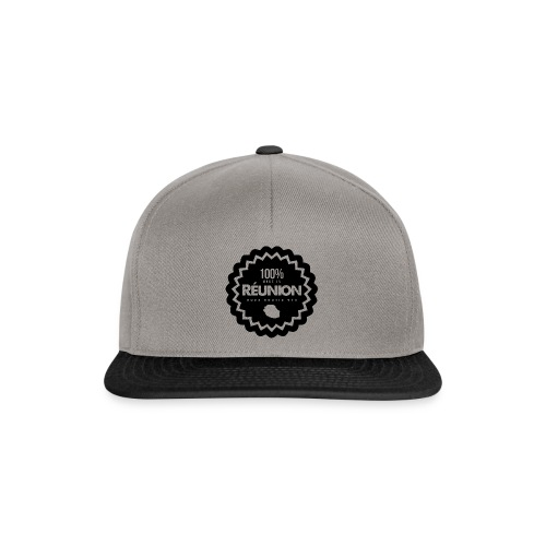 Collection 100% MADE IN REUNION - Casquette snapback
