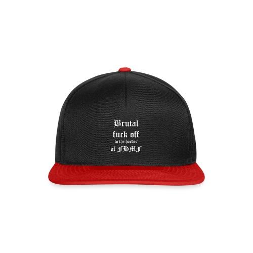 brutalfuckoff - Snapback Cap