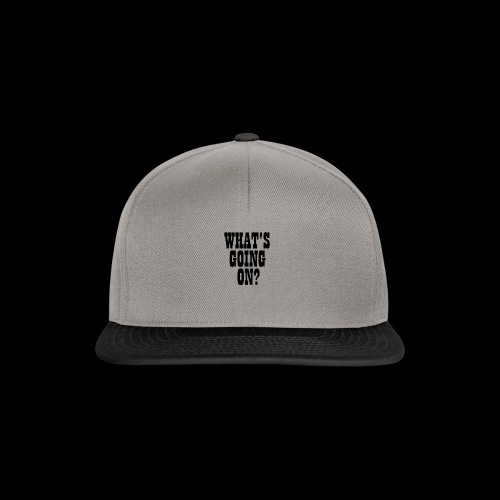 What's Going On? The Snuts - Snapback Cap