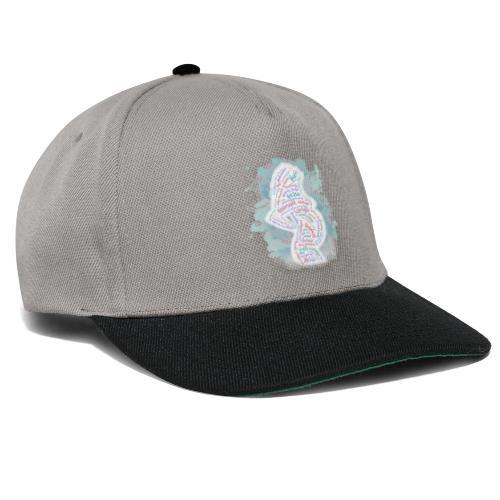 Silhouette Richtig Schwanger - Snapback Cap