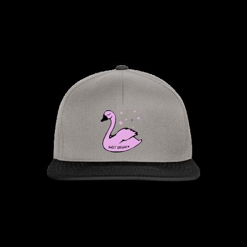 swan sweet dreams - Snapback Cap