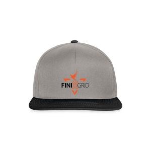 FinixGrid Orange - Snapback Cap