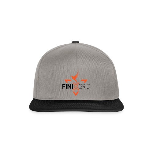 FinixGrid Orange - Snapback Cap