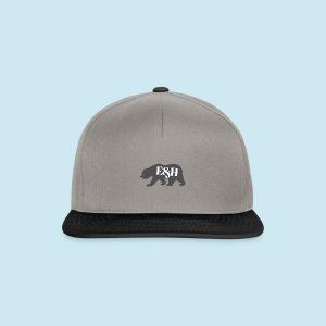 Wild bear design ~ E&H Woodland Collection - Snapback Cap