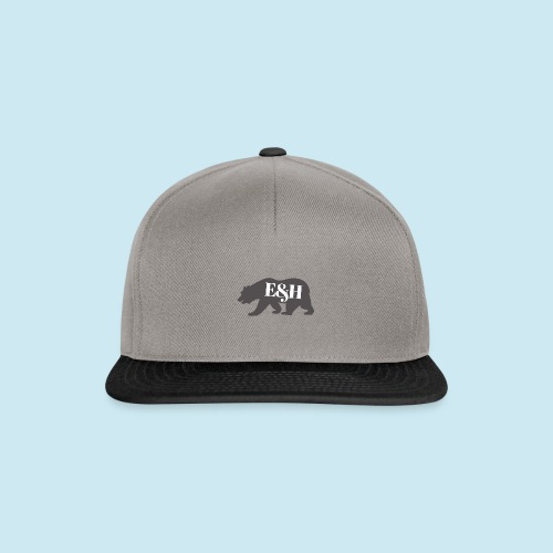 Wild bear design ~ E&H Woodland Collection - Snapback Cap