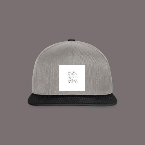 Helden - Snapback Cap
