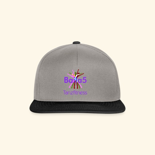 Baila5 Tanzfitness violet - Snapback Cap