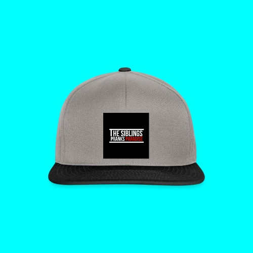 TheSiblingsPranksParadise - Snapback Cap