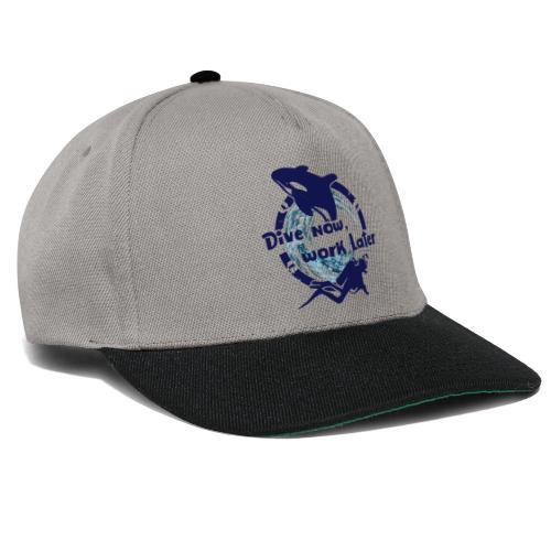 Dive Now - Snapback Cap