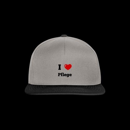 I LOVE PFLEGE - Snapback Cap