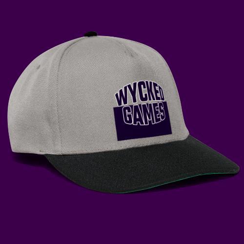 Wycked Games Logo - Snapback Cap