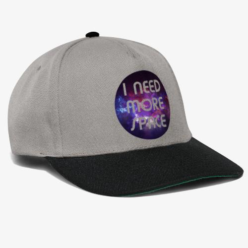 I need more Space - Snapback Cap