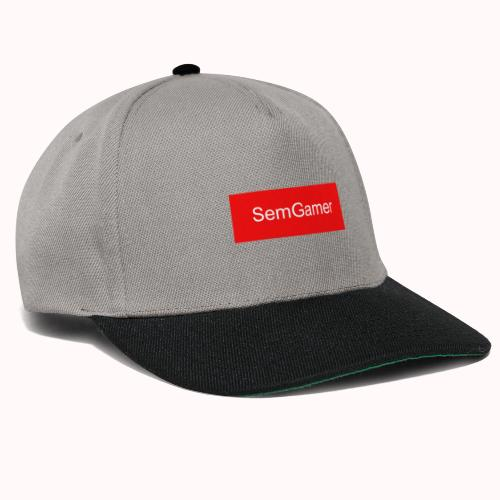 SemGamer in rood vak - Snapback cap