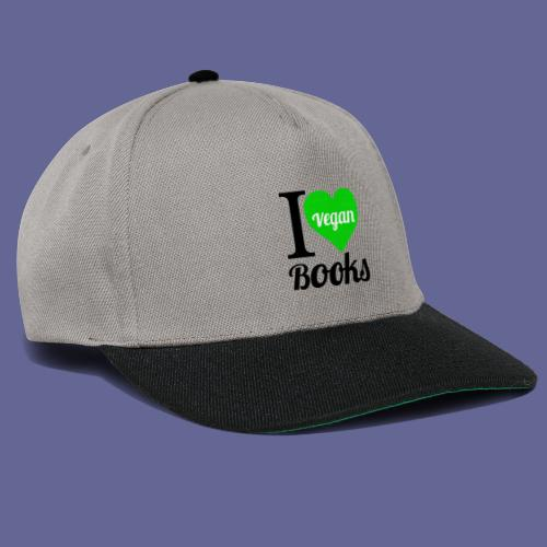 I love VEGAN books! - Snapback Cap