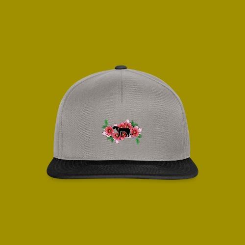 Sakura Leafs, Flowers and Black Tiger Avatar - Snapback Cap