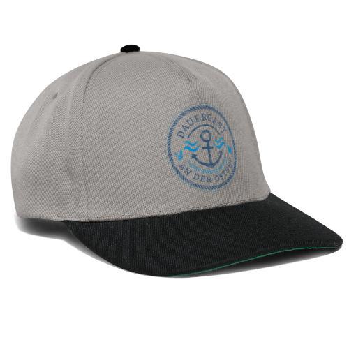 Ich bin Dauergast an der Ostsee - Snapback Cap