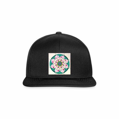 mandala rosa - Gorra Snapback