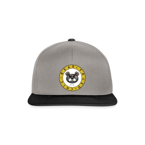 Bear Faced Chic Original Logo - Snapback Cap