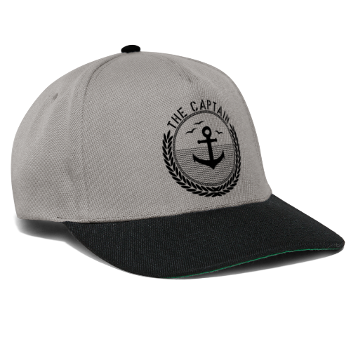 The Captain - Anchor - Snapback Cap