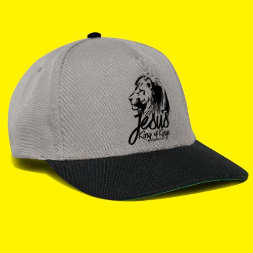 JESUS - KING OF KINGS - Revelations 19:16 - LION - Snapback Cap