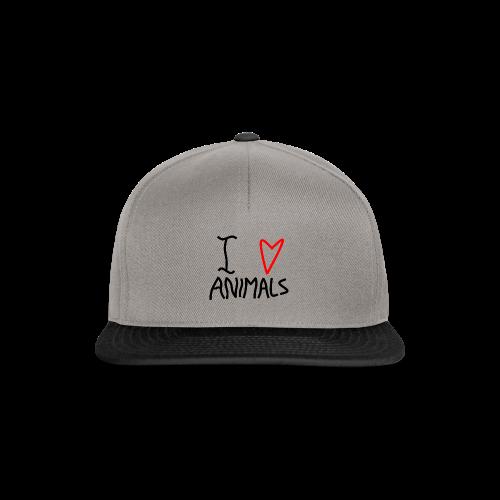 I Love Animals - Snapback Cap