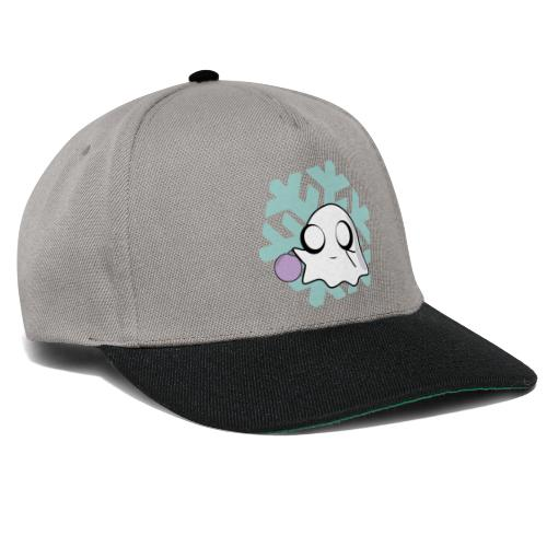 Christmas Winter Festive Kawaii Cute Ghost Bauble - Snapback Cap