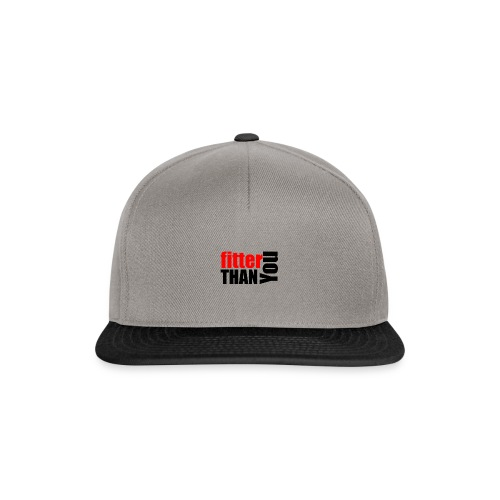 Fitter than you - Snapback Cap