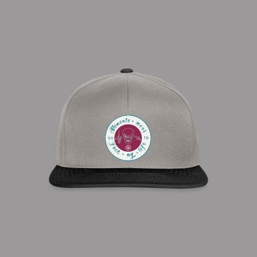 Memento Mori Emblem - Snapback Cap