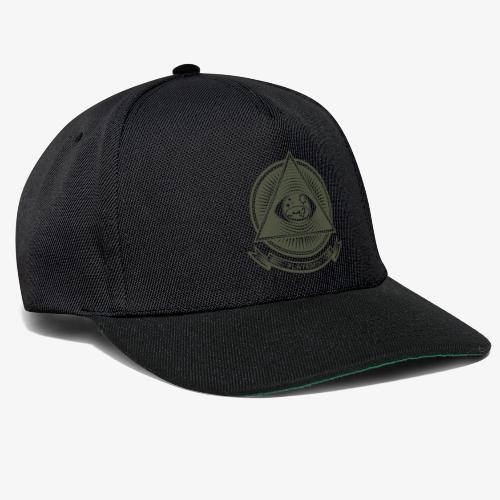 Illuminati Flat Earth - Snapback Cap