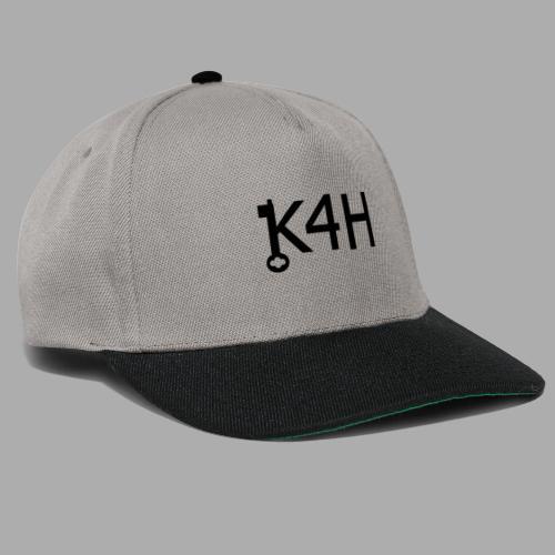 K4HText2Black - Snapbackkeps