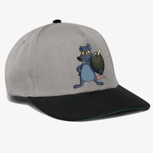 BombRat Lunte aus - Snapback Cap