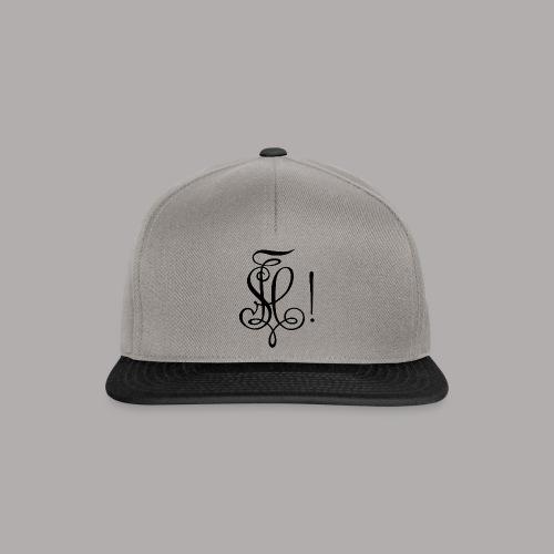 Zirkel, schwarz (vorne) - Snapback Cap