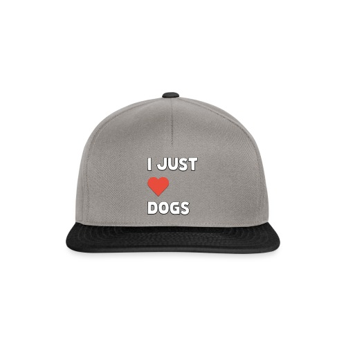 I Just Love Dogs - Snapbackkeps