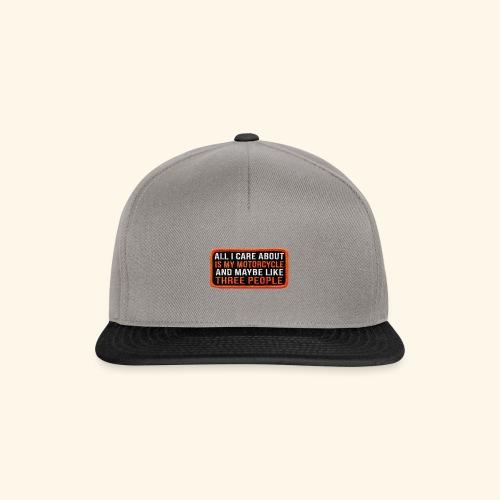 Limited Moto Design - Snapback Cap