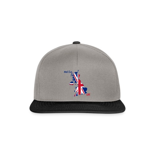 hello UK Kollektion - Snapback Cap