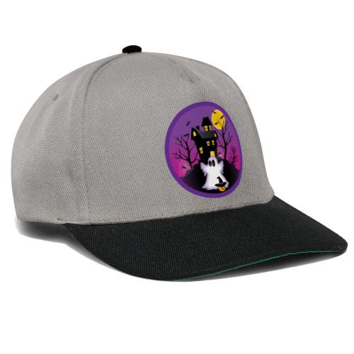 Spooky Halloween Ghost - Snapback Cap