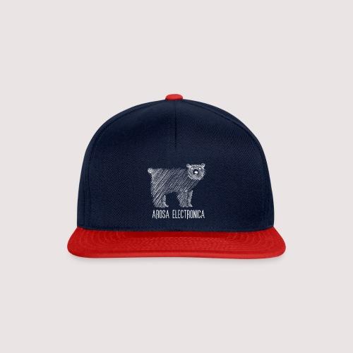 Bär Weiss - Snapback Cap